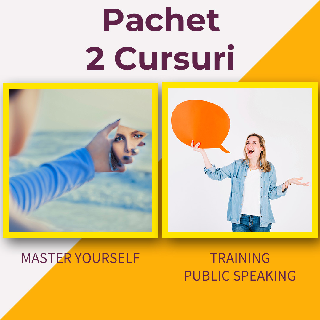 Pachet Master Yourself & Training Public Speaking